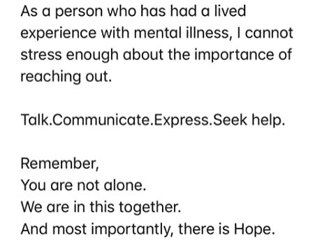 Sushant Singh Rajput death: Deepika highlights 'importance of reaching out'. - Sushant Singh Rajput