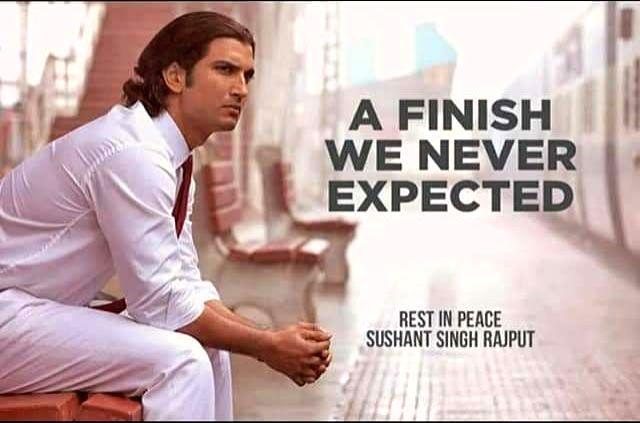Sushant Singh Rajput's school: 'A finish we never expected'. - Sushant Singh Rajpu