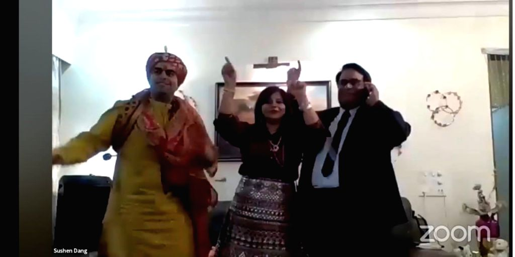 Sushen and Kirti wedding.