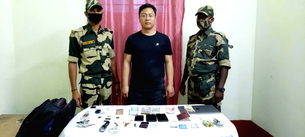 Suspected Chinese spy held while illegally entering India from B'desh