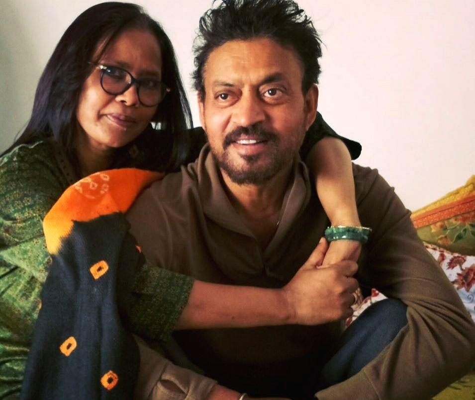 Sutapa Sikdar's emotional post for late husband Irrfan Khan. - Irrfan Khan