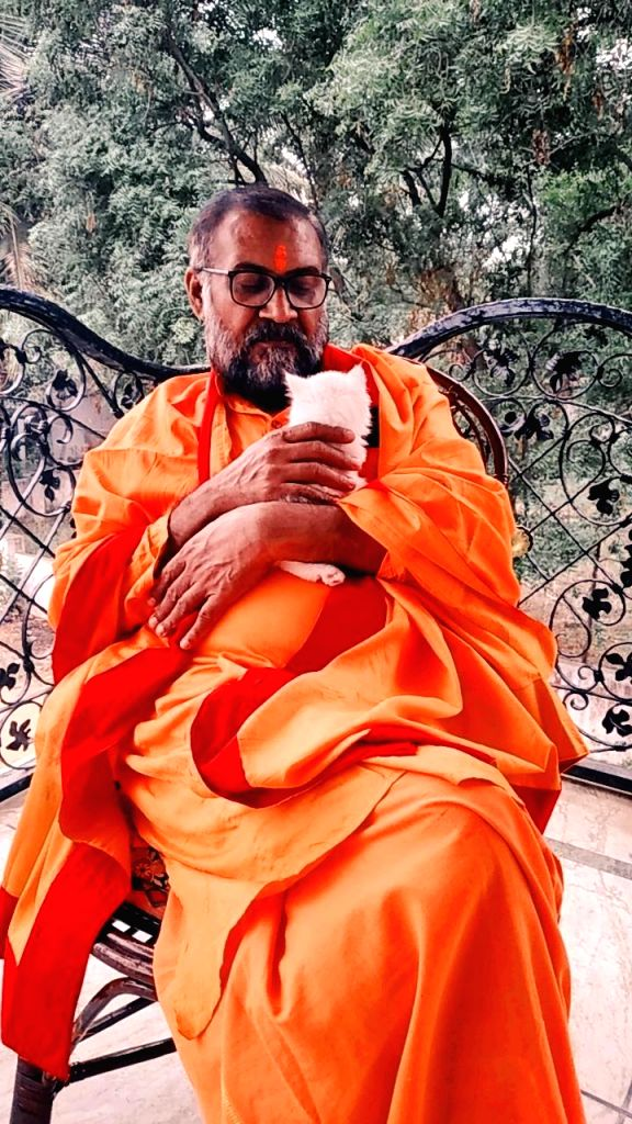 Swami Tapasyananda Saraswathi.