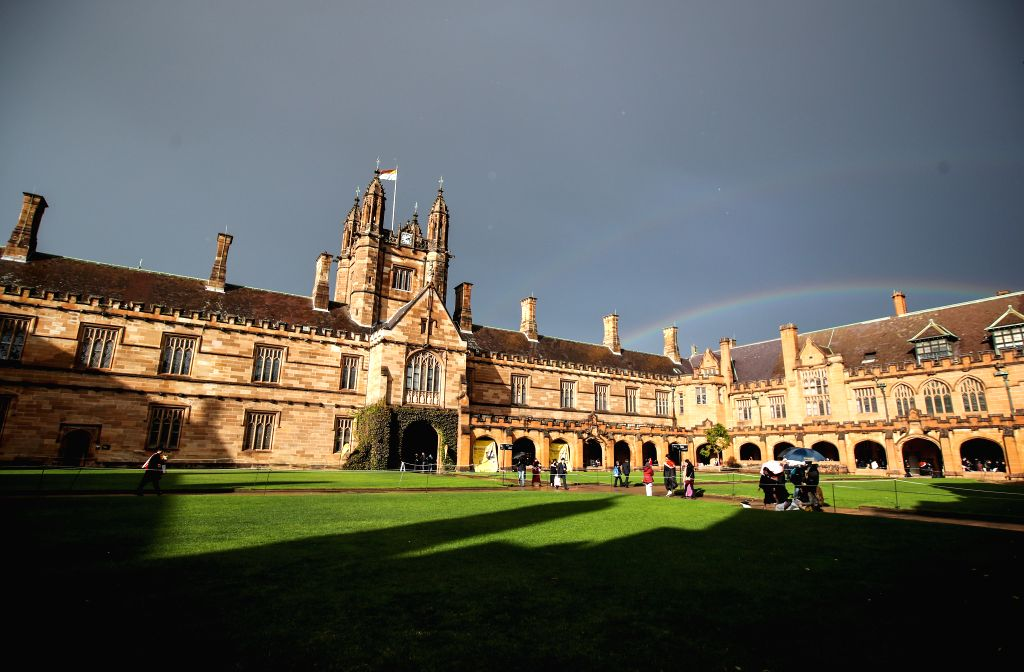 SYDNEY, June 17, 2019 - Graduates are seen at the campus of University of Sydney, Australia, June 5, 2019. Introduced in 2010, Australia's move to a demand-driven higher education system has seen a ...