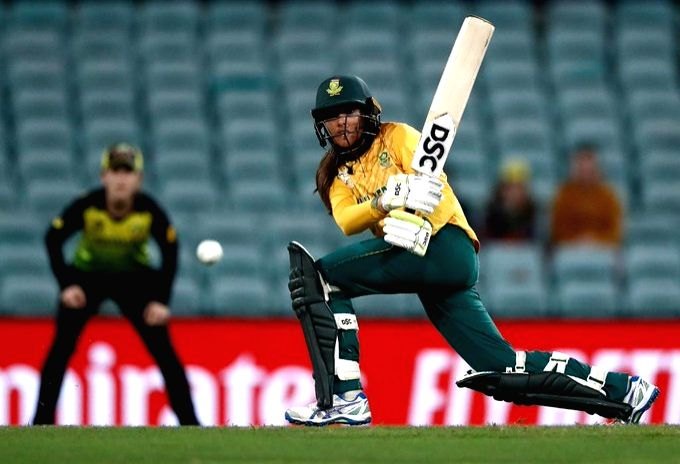 Sydney: South Africa's Sune Luus in action during the Women's T20 World Cup semi-final clash between Australia and South Africa at Sydney Cricket Ground in Sydney, Australia on March 5, 2020. (Photo: Twitter/@T20WorldCup)