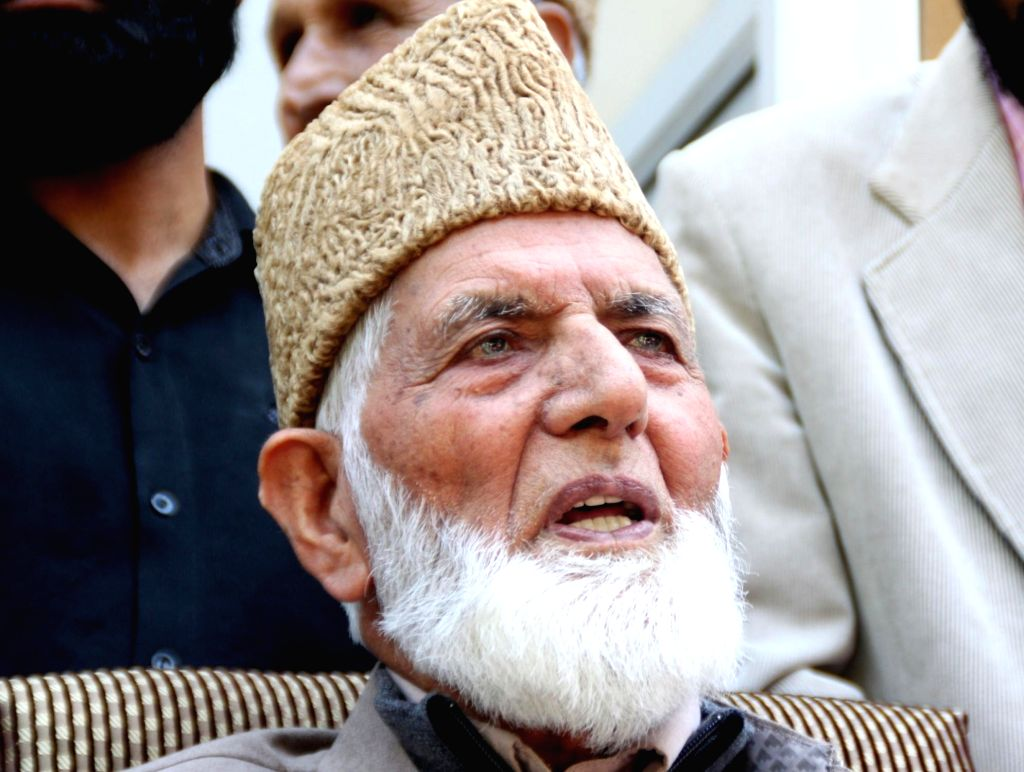 Syed Ali Shah Geelani. (File Photo: IANS)