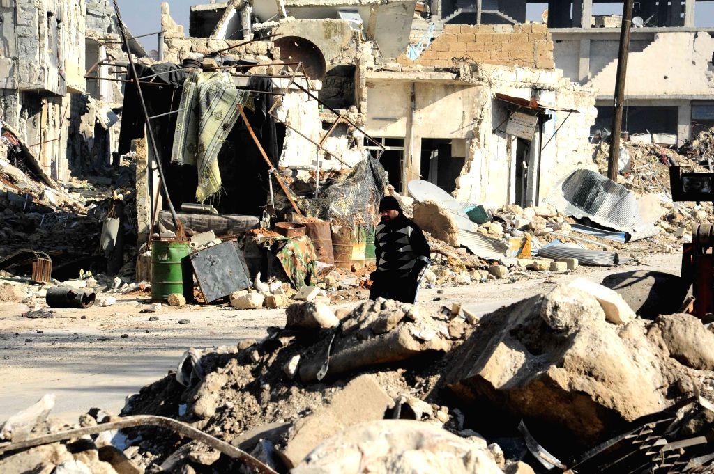 Syrian rebels fire mortar shells on Aleppo city