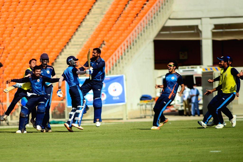 T20 Syed Mushtaq Ali Trophy: Baroda, Rajasthan win, enter semis .