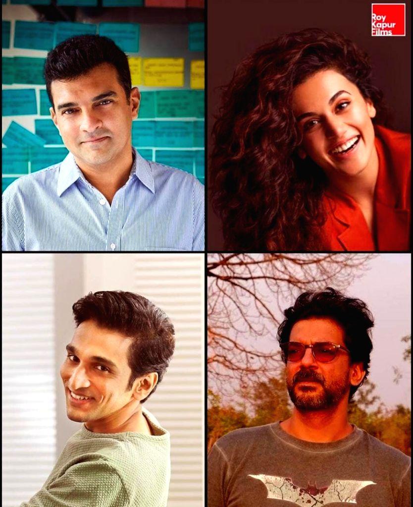 Taapsee Pannu and Pratik Gandhi to feature in 'Woh Ladki Hai Kahaan'. - Pratik Gandhi