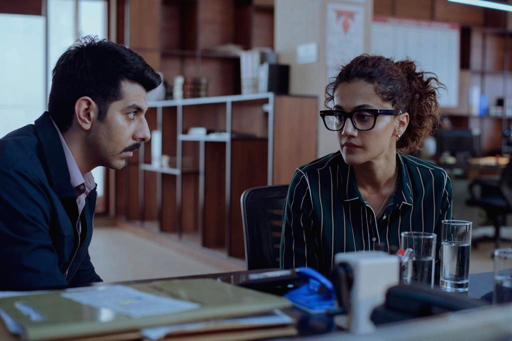 Taapsee Pannu will once again be seen with Pavail Gulati in Anurag Kashyap's 'Dobara'!. - Anurag Kashyap