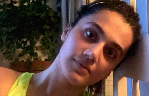 Taapsee takes a dose of double workout.