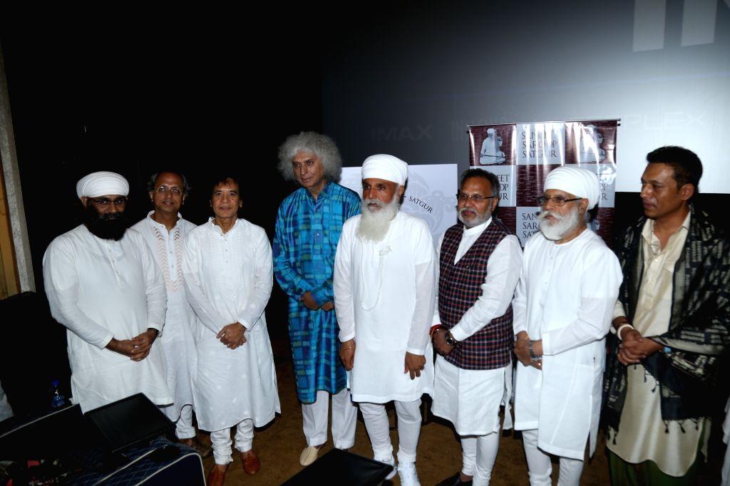 Tabla maestro Zakir Hussain during a programme in Mumbai on July 26, 2019.