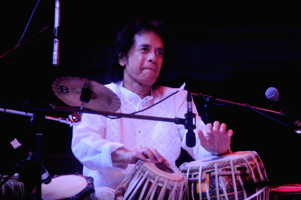 Tabla maestro Zakir Hussain. (Photo: IANS)