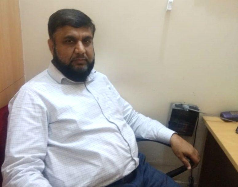 Tablighi Jamaat Spokesperson Dr. Mohammad Shoeb Ali.