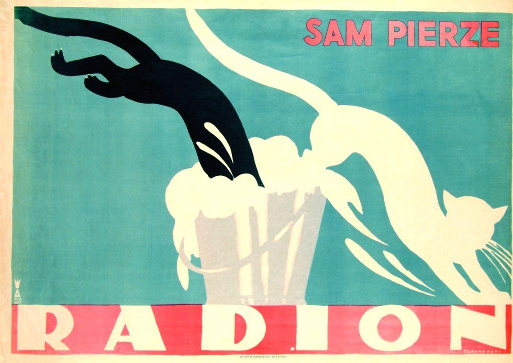 Tadeusz Gronowski (1894-1990); Radion washes itself; Date: 1926. (Source: Polish Institute, New Delhi)