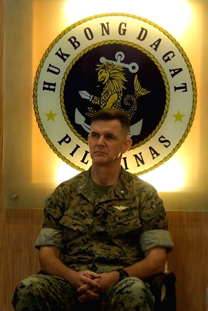 TAGUIG CITY, Oct. 4, 2016 - U.S. Marine Corps Brigadier General John Jansen attends the opening ceremony of the annual Philippines Amphibious Landing Exercise in Taguig City, the Philippines, Oct. 4, ...