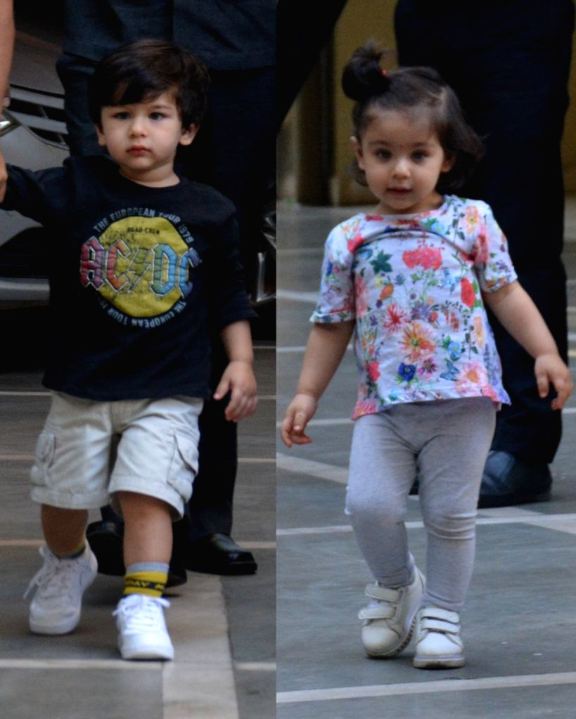 Taimur Ali Khan and Inaaya Khemu. (File Photo: IANS) - Taimur Ali Khan