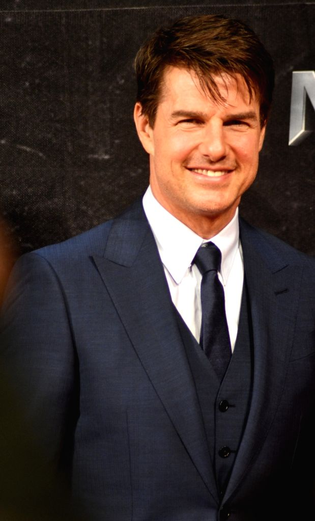 """TAIPEI, May 26, 2017 - Actor Tom Cruise attends a premiere ceremony of the film """"The Mummy"""" in Taipei, southeast China's Taiwan, May 25, 2017. - Tom Cruise"""