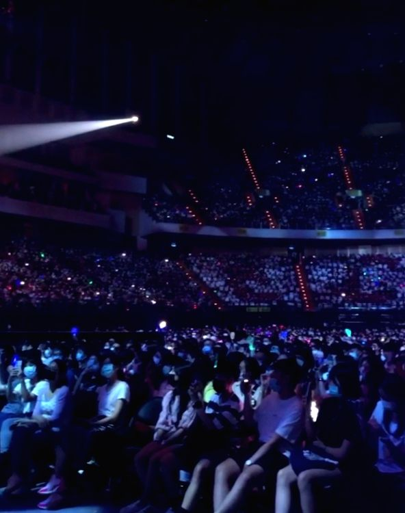 Taiwanese pop star Eric Chou on performing amid 10,000 fans in pandemic era.