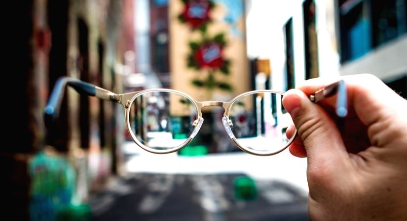 Taking care of eye glasses must during COVID-19 pandemic.
