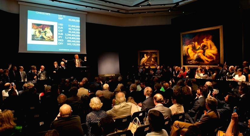 Taking the business of art online, the Christie's way.