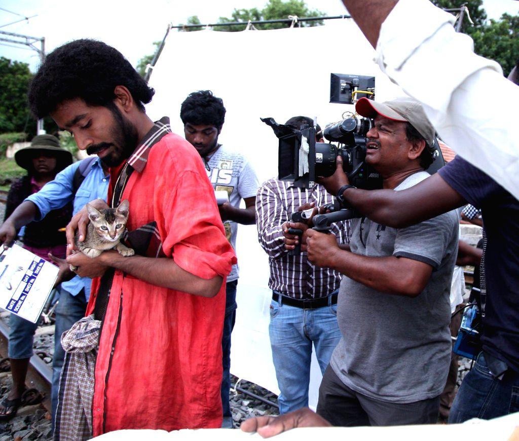 Tamil movie `Anegan` stills.