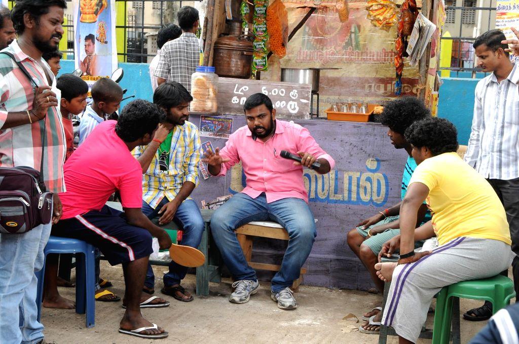 Tamil movie `Atti` stills.