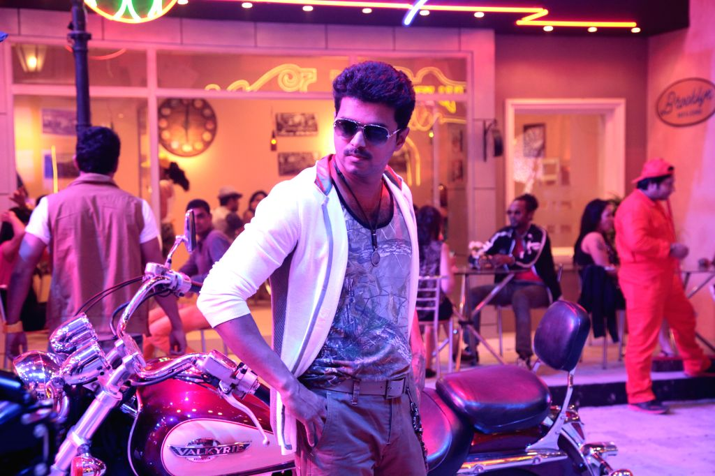 Tamil movie `Kaththi` stills.