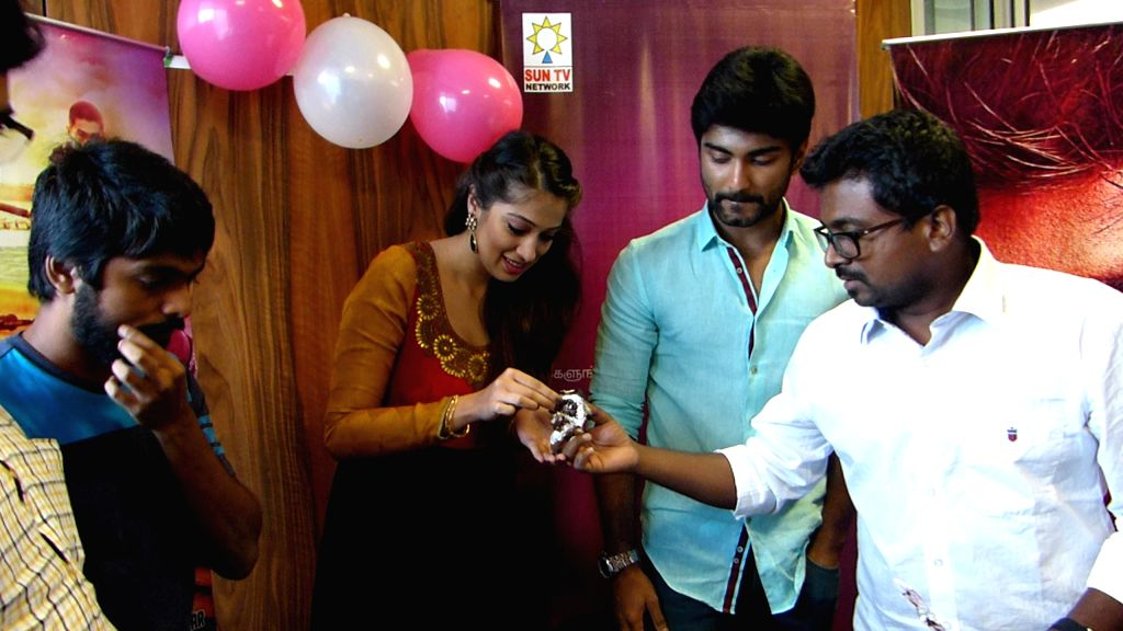 Tamil movie `Yennamo Nadakkudhu` audio launch stills.