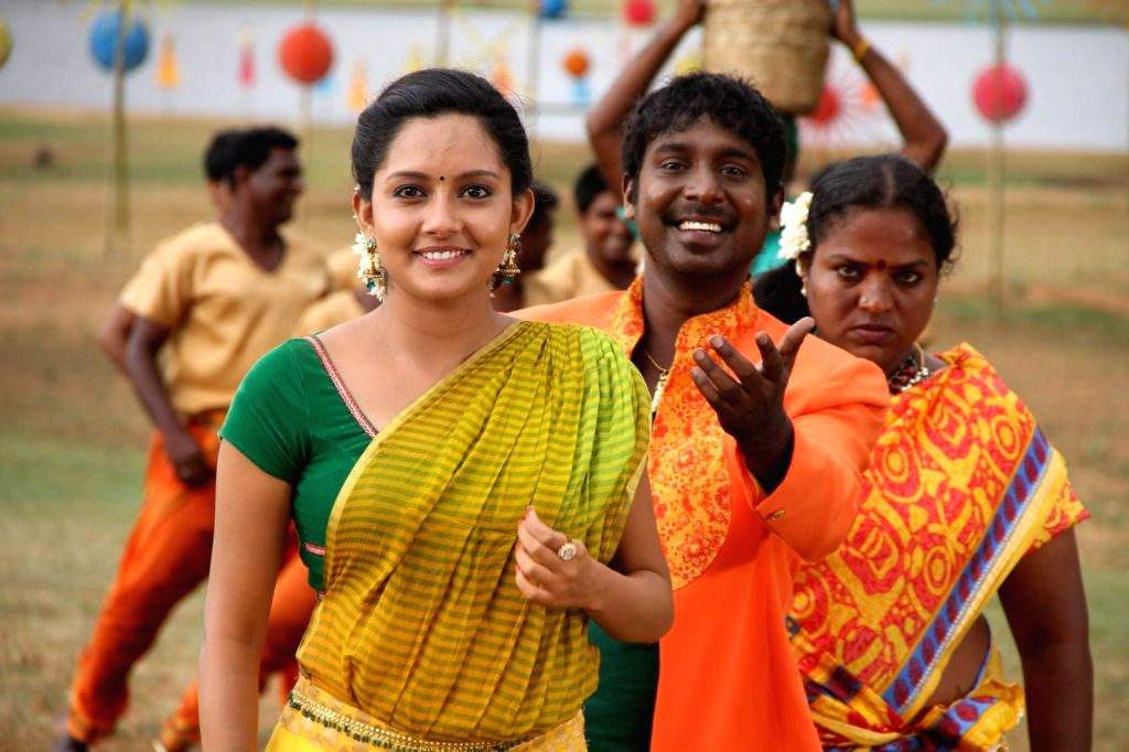 Tamil movie `Yennamo Nadakkudhu` stills.