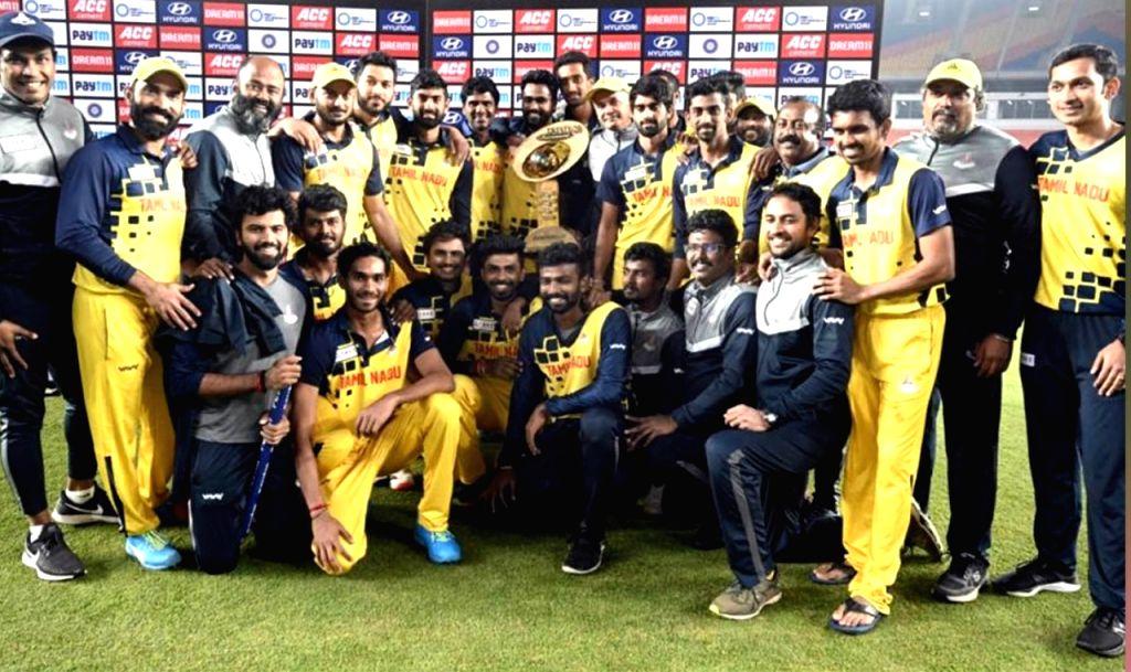 Tamil Nadu announce squad for Syed Mushtaq Ali T20.