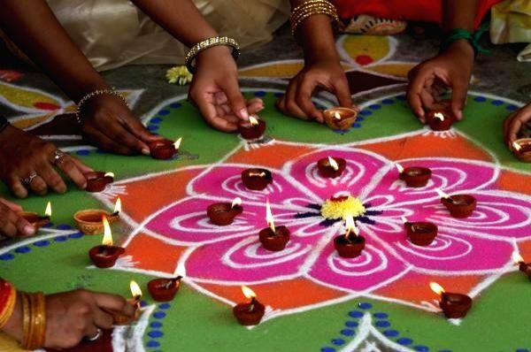 Tamil Nadu celebrates Diwali with traditional fervour.