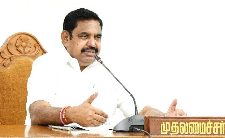 Tamil Nadu Chief Minister K. Palaniswami. (Photo: Twitter@CMOTamilNadu) - K. Palaniswami