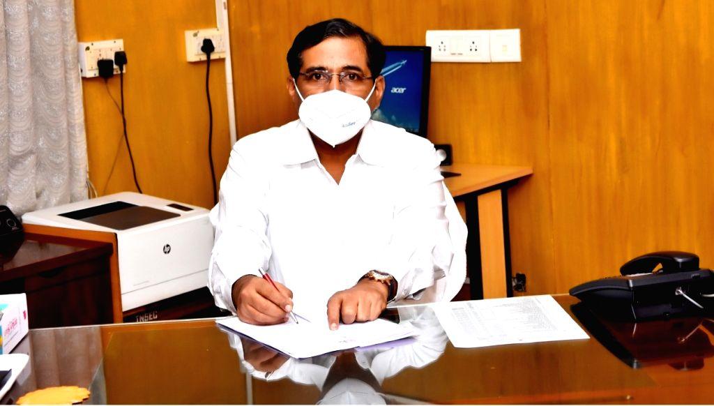 Tamil Nadu State Election Commissioner V. Palanikumar. (Credit : Handout image)