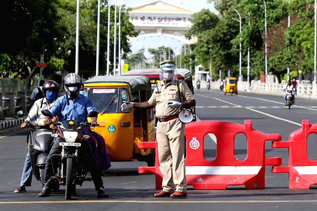 Tamil Nadu  total lockdown to curb Covid-19 on Monday, 10 May, 2021.
