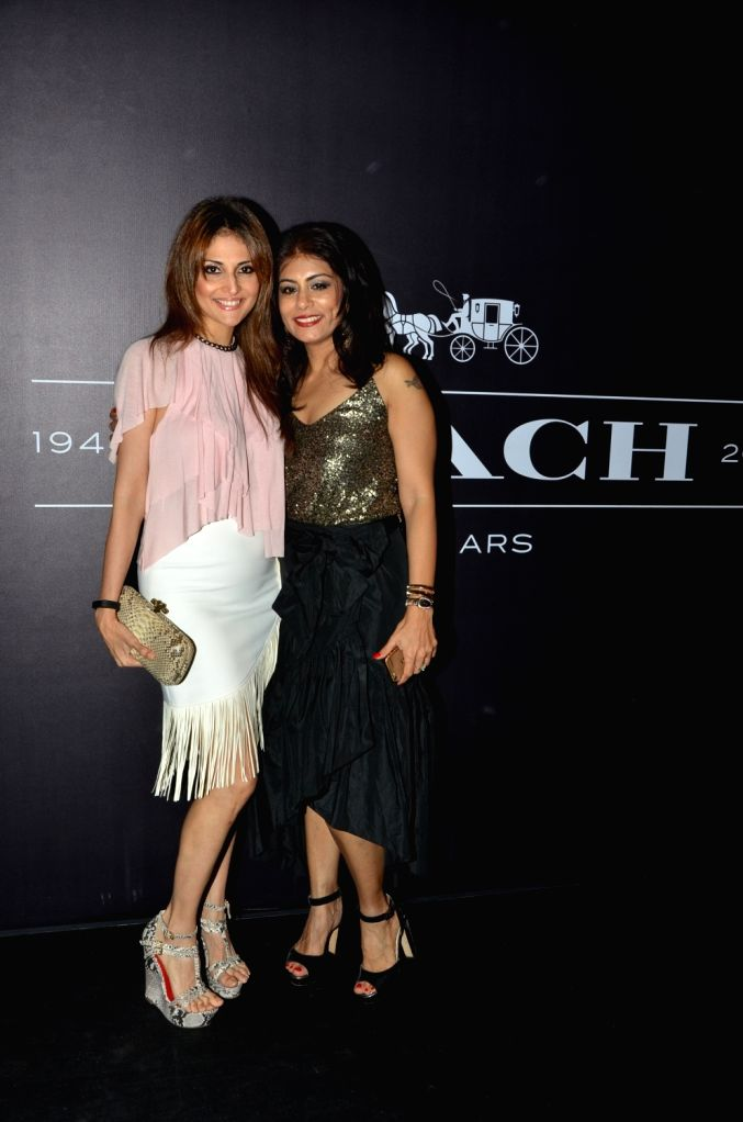 Tanaaz Doshi during the Coach launch celebrations in Mumbai, on Aug 4, 2016. Coach celebrates  the launch of its first store in India.