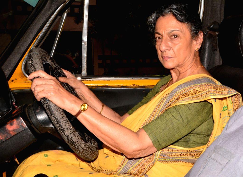 Tanuja Mukherjee. (Photo: IANS) - Tanuja Mukherjee