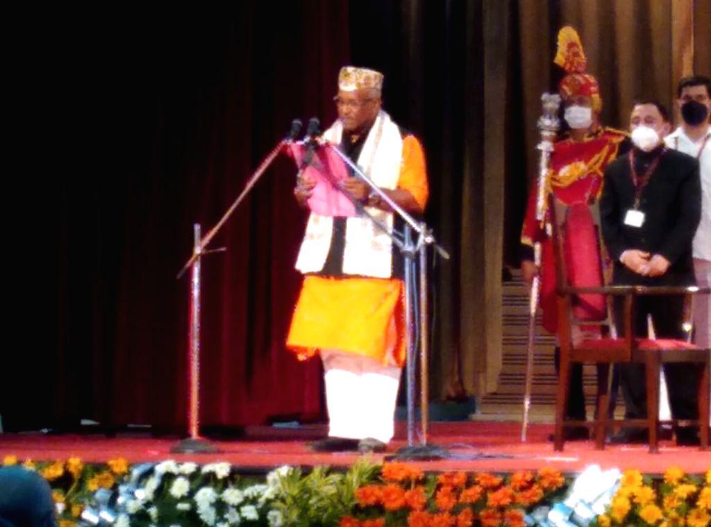 Tar Kishore Prasad has taken oath for next cabinet in Bihar.