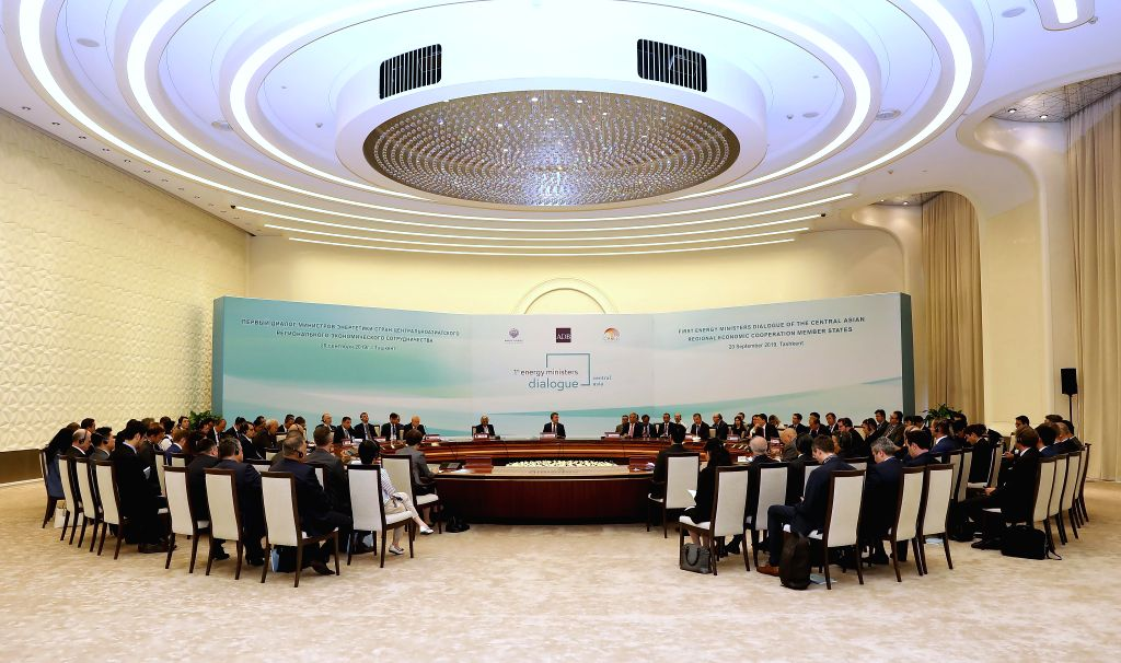 TASHKENT, Sept. 21, 2019 - Participants representing nine countries from the Central Asia Regional Economic Cooperation (CAREC) Program attend the CAREC Energy Ministers' Dialogue in Tashkent, ...