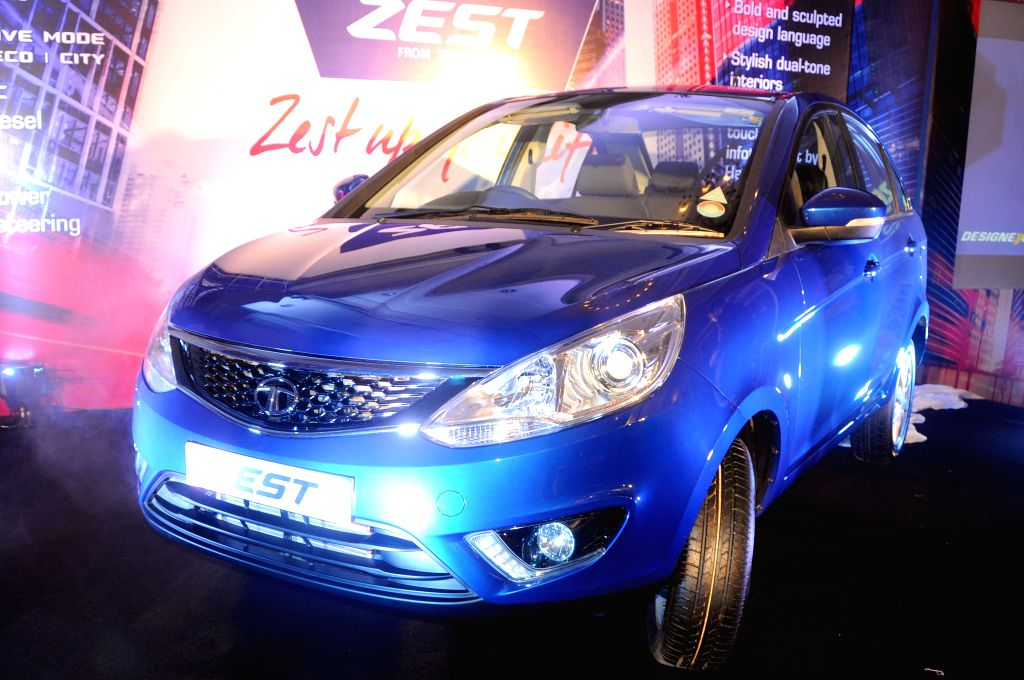 TATA launches 'Zest' in Bangalore on Aug 19, 2014.