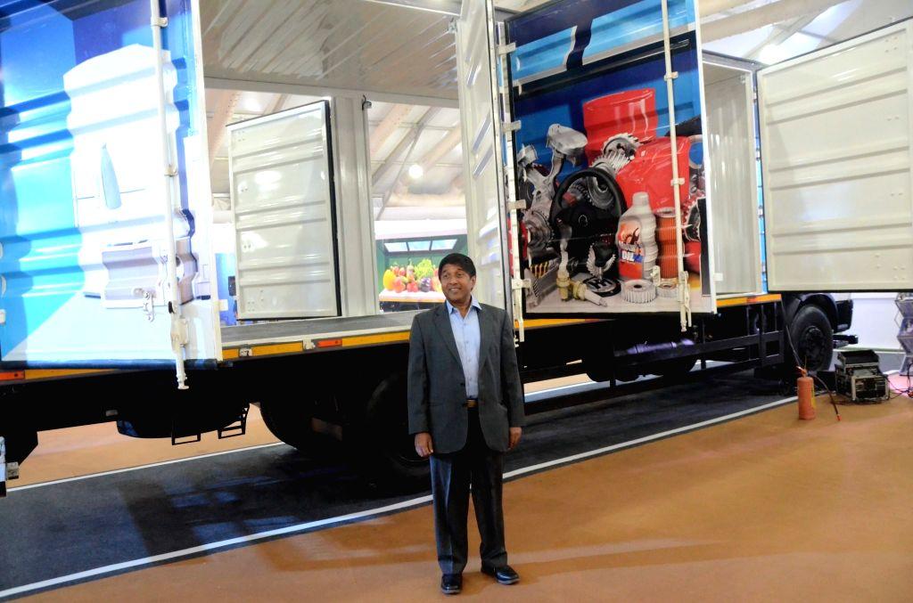 Tata Motors CVBU Vice President R T Wasan at the Tata Motors e-commerce exhibition in Mumbai, on March 6, 2019.