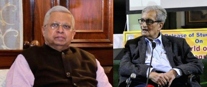 Tathagata Roy hits out at Amartya Sen over 'schizophrenia' reamrk. - Tathagata Roy