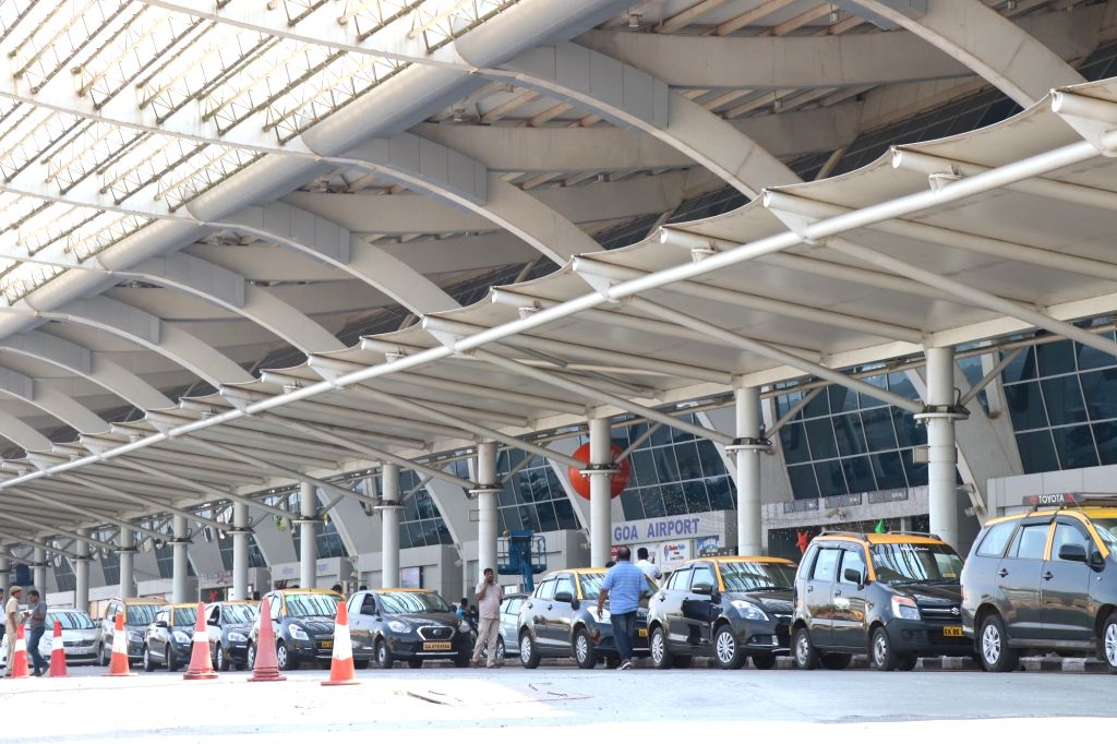 Taxis at Goa Airport. (File Photo: IANS)
