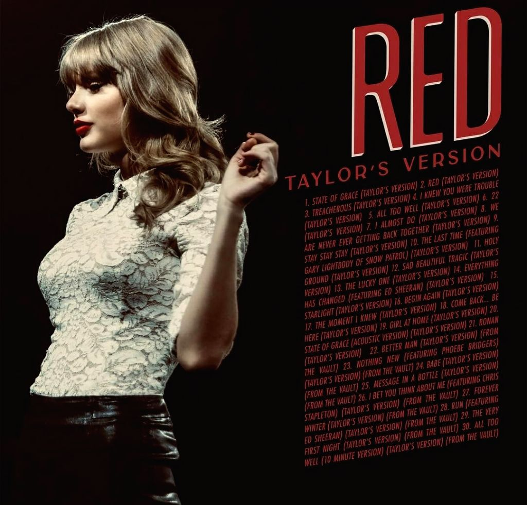 Taylor Swift reveals 'Red (Taylor's Version)' is arriving earlier on Nov 12