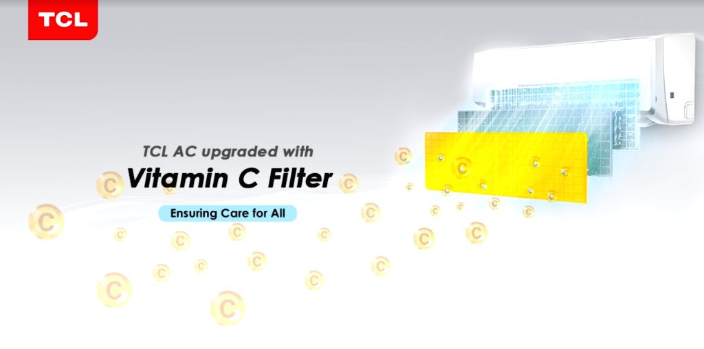 TCL brings AC with Vitamin C filter in India for optimum health.