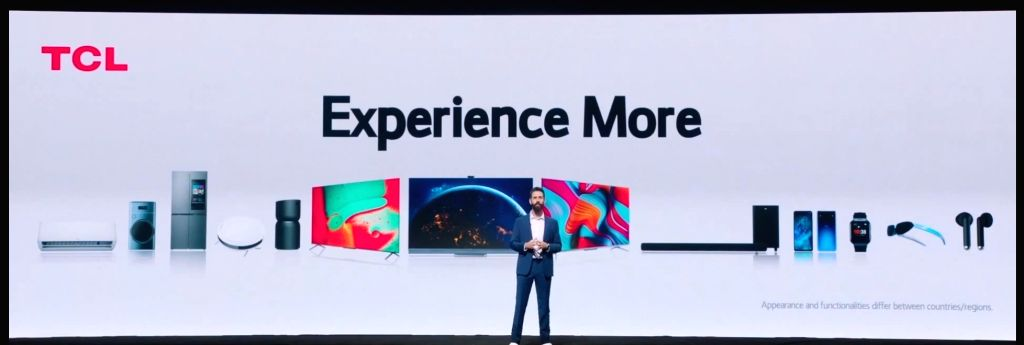 TCL Electronics on Wednesday introduced its latest smart TVs, audio, and home appliances at CES 2021.