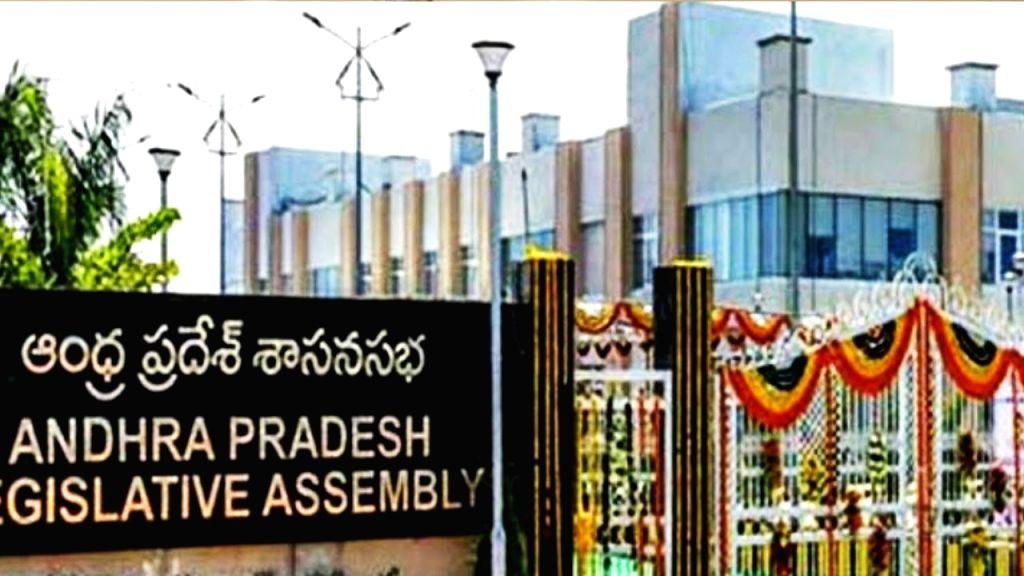 TDP boycotts Andhra Budget session, holds mock Assembly instead