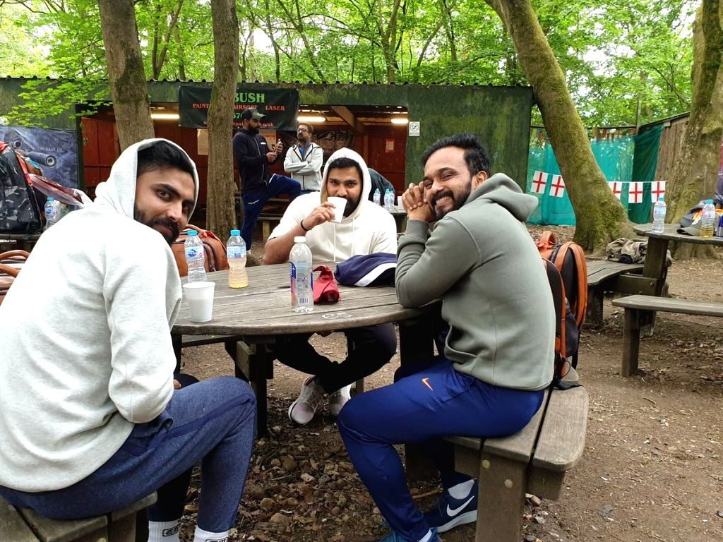 Team India trolled for 'fun day out in the woods'.