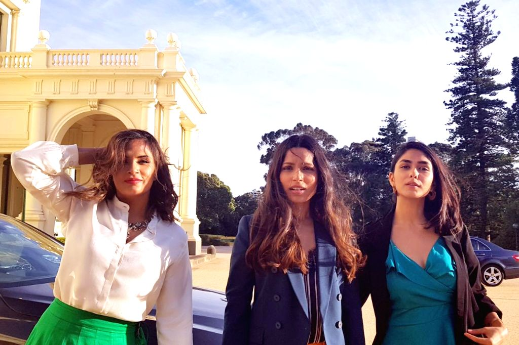 Team of Love Sonia at the Indian Film Festival of Melbourne (IFFM) in Melbourne on Aug 10, 2018.