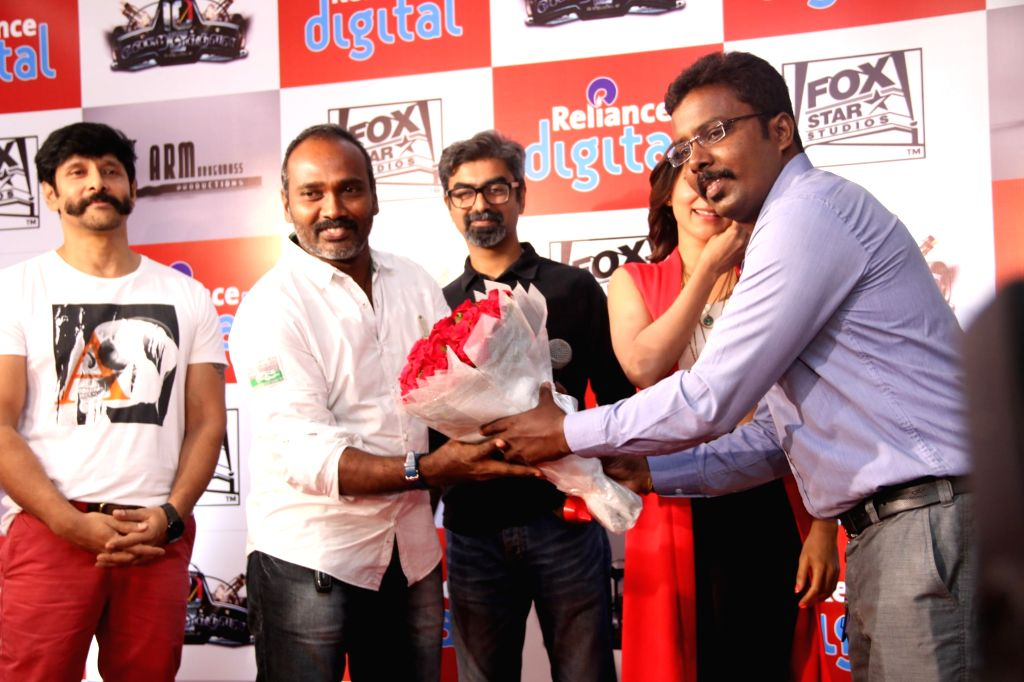 Teaser launch of Tamil film `10 Endrathukulla`.