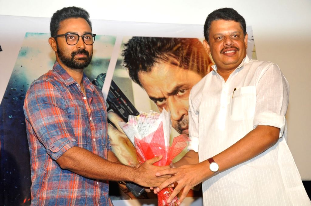 Teaser launch of Telugu film Kurukshetram.